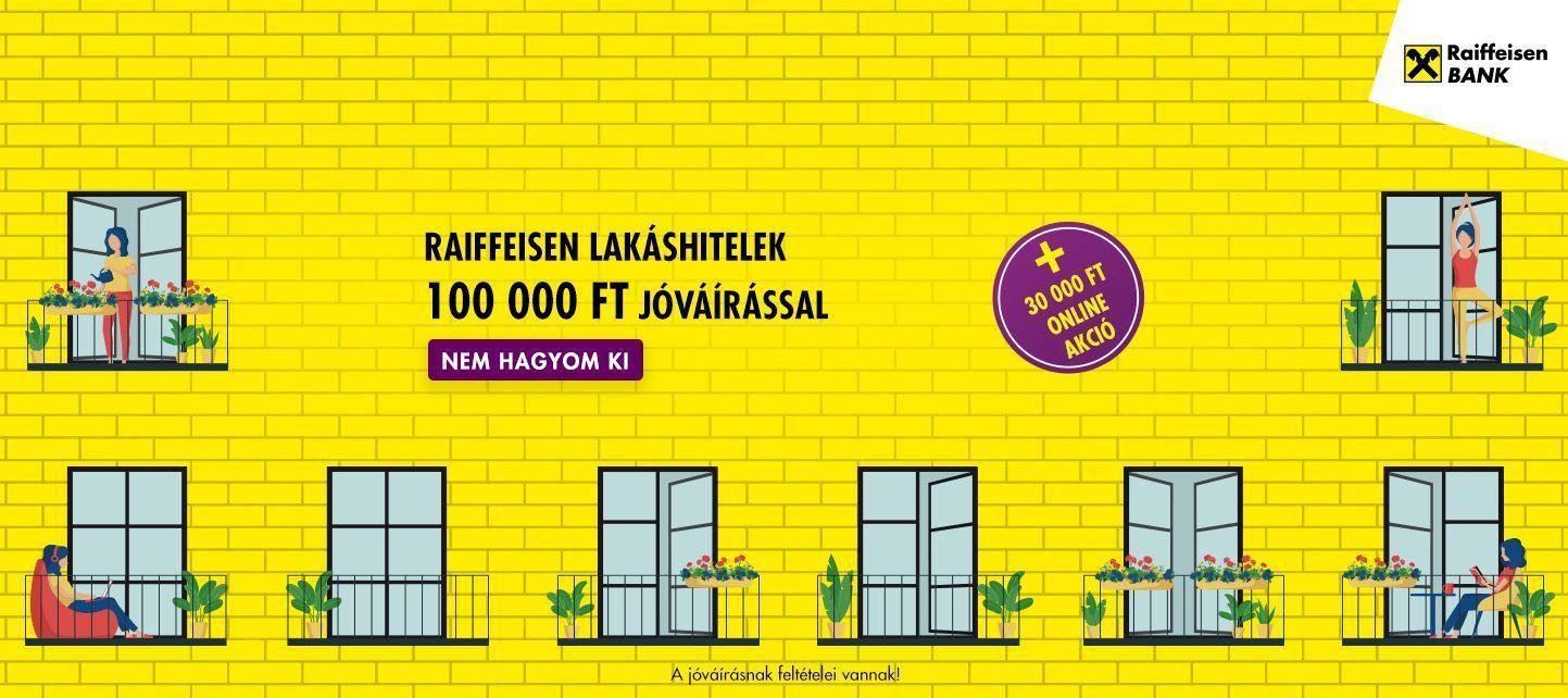 Raiffeisen Bank - Lakáshitel banner
